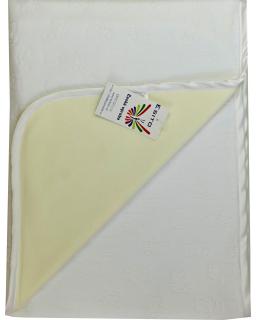 Dětská deka dvojitá plyš / bavlna