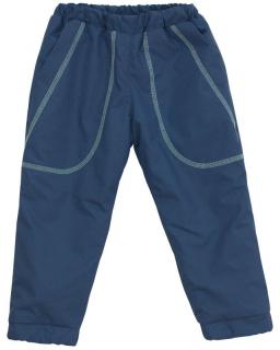 Šusťákové kalhoty zimní vel. 110 - 116