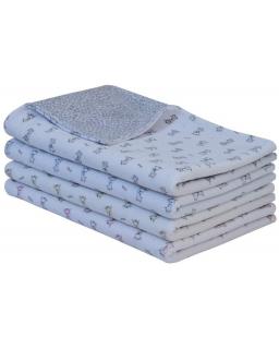Jarní dětská deka dvojitá plyš