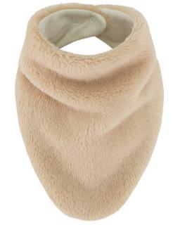 Šátek na krk Lara podšitý bavlnou bílá