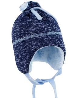 Dětská zimní čepice Oliver marine