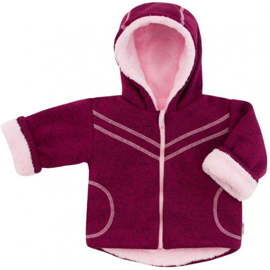 Dětská zimní bunda Oliver fuchsie vel. 74 - 86