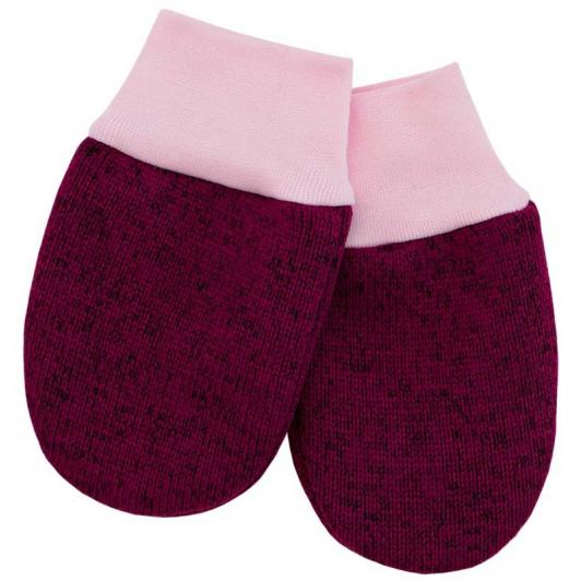 Dětské zimní rukavice Oliver fuchsie vel. 56 - 68
