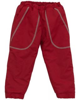 Šusťákové kalhoty zimní vel. 86 - 104