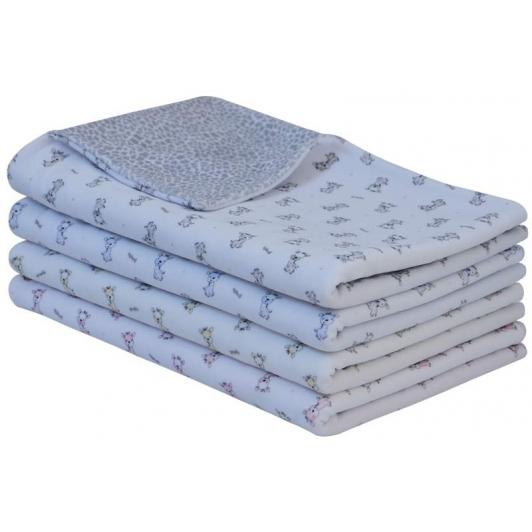 Jarní dětská deka dvojitá plyš úvodní