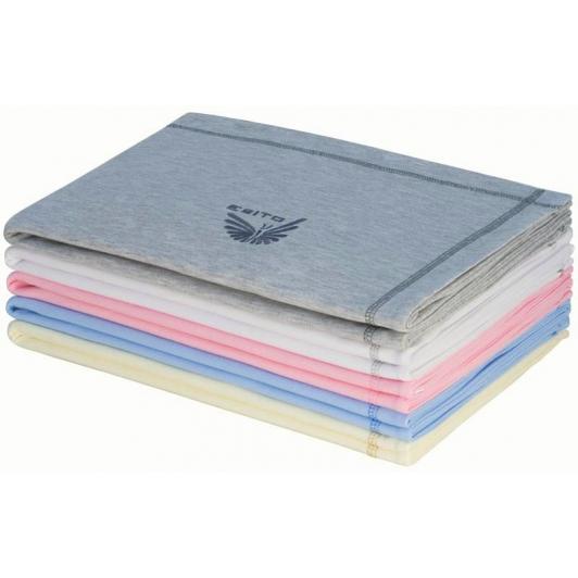 Letní dětská deka dvojitá bavlna jednobarevná společná