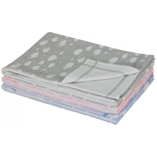 Letní dětská deka dvojitá bavlna obláček společná