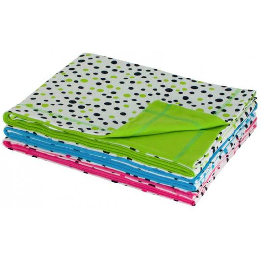 Letní dětská deka dvojitá bavlna puntík společná