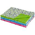 Letní dětská deka dvojitá bavlna puntík