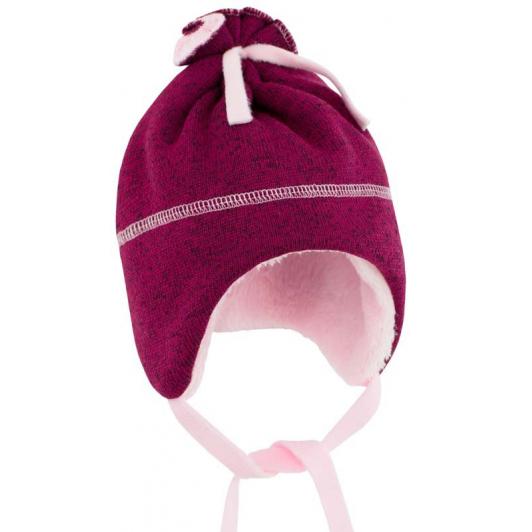 Dětská zimní čepice Oliver fuchsie