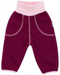 Dětské zimní kalhoty Oliver  fuchsie  vel. 56 - 68