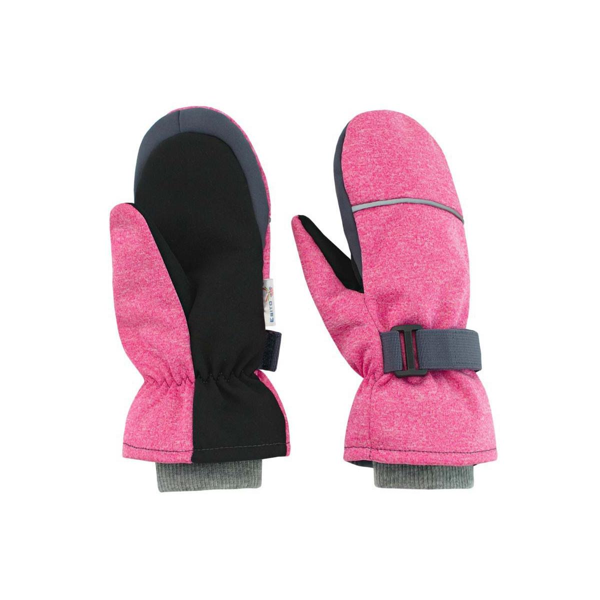 cdfc0e5c03a ESITO - Dětské zimní rukavice Softshell vel. 3 - 6 let