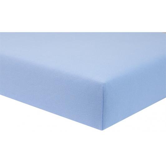 Dětské prostěradlo Jersey modrá