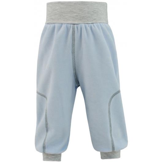 Dětské jarní kalhoty Adam modrá vel. 56 - 68