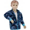 Dětská mikina Aqua vel. 122