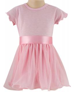 Dívčí šaty tylové vel. 104 až 116
