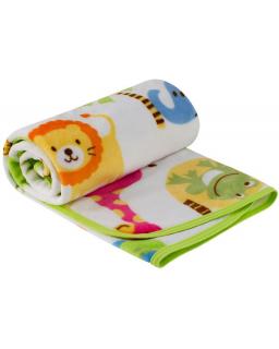 Dětská deka mikroplyš ZOO