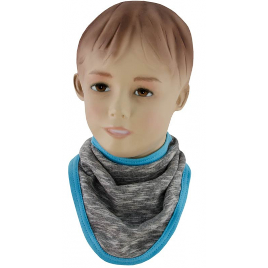 Šátek na krk David tyrkysová