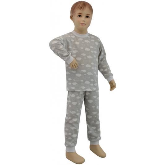 Dětské pyžamo šedý obláček vel. 116 - 122