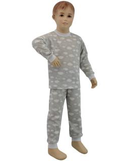 Dětské pyžamo šedý obláček vel. 80 - 110