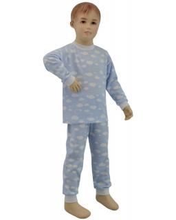 Chlapecké pyžamo modrý obláček vel. 86 - 110