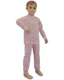 Dívčí pyžamo růžový obláček vel. 80