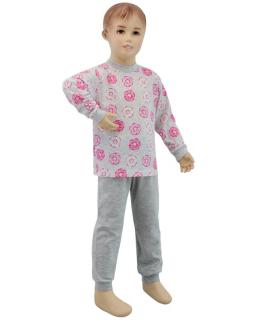 Dívčí pyžamo růžový donut vel. 116 - 122