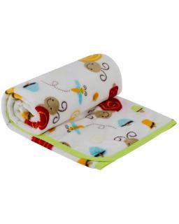 Dětská deka mikroplyš Šnek