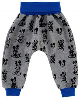 Dětské tepláky Mickey Mouse růžová vel. 74 až 86