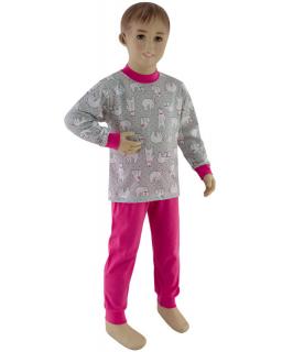 Dívčí pyžamo lední medvěd vel. 92 - 110