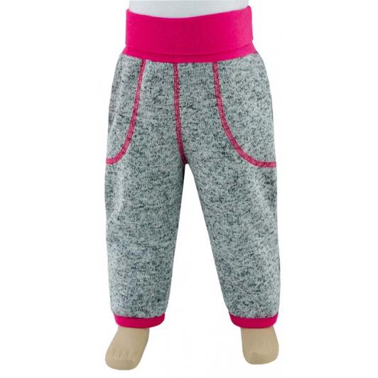 Dětské zimní kalhoty Oliver malinová vel. 74 - 86