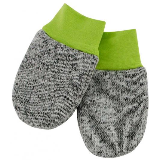 Dětské zimní rukavice Oliver zelená  vel. 56 - 68